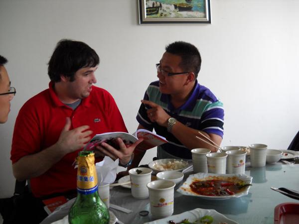 Если хотите расположить к себе китайца, поговорите с ним о еде